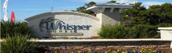 whisper dunes home sales